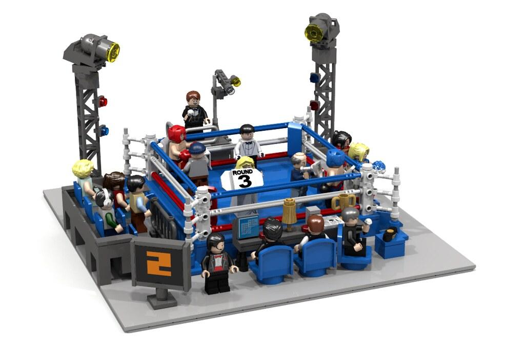 Boxing Ring Lego Ldd
