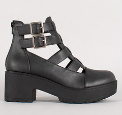 "leatherette-round-toe-buckle-strap-bootie-nlk • <a style=""font-size:0.8em;"" href=""http://www.flickr.com/photos/64360322@N06/15281988052/"" target=""_blank"">View on Flickr</a>"