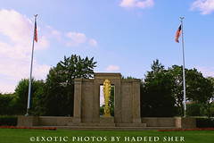 The second division monument (C@MARADERIE) Tags: city usa color art monument horizontal architecture washingtondc war colorful cityscape wwi memory nationalmall firstworldwar nationalmonuments colorimage warmonuments seconddivisionmonument