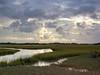 Salt marsh, morning, spring tide (baro-nite) Tags: film water mediumformat iso100 pentax 120format baldheadisland ektar epsonv700 lightzone 645n smcpentaxfa64512875mm