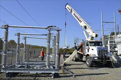 JCP&L Upgrading East Windsor Substation to Enhance Service Reliability in Mercer County (FirstEnergy Corp.) Tags: jcpl service reliability mercer county transmission substation