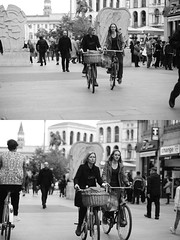 [La Mia Citt][Pedala] (Urca) Tags: milano italia 2016 bicicletta pedalare ciclista ritrattostradale portrait dittico bike bicycle nikondigitale mir biancoenero blackandwhite bn bw nn 89146
