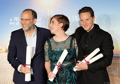 10-09-2016-66 Ira Sachs  Anna Rose Olmer Matt Ross (Thierry Sollerot) Tags: deauville2016 thierrysollerot tapis rouge deauville festival film amricain american