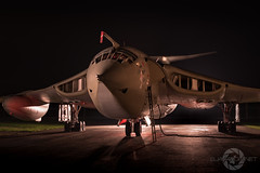 """Granby Veteran"" (SJAviation.net) Tags: raf aircraft nikon operationgranby aviation jet handleypage tle airshow xl231 yorkshireairmuseum nightshoot"