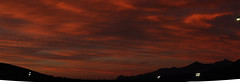 Sunset 10 6 16 #14 Panorama (Az Skies Photography) Tags: october 6 2016 october62016 10616 1062016 sky skyline skyscape rio rico arizona az rioricoaz riorico arizonasky arizonaskyline arizonaskyscape cloud clouds red orange yellow gold golden salmon black canon eos rebel t2i canoneosrebelt2i eosrebelt2i sun set sunset dusk twilight nightfall arizonasunset panorama