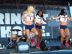 IMG_6010 (grooverman) Tags: houston texans cheerleaders nfl football game nrg stadium texas 2016 budweiser plaza nice sexy legs stomach canon powershot sx530