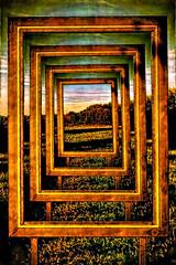 Droste Effect (andreas.gisselmann) Tags: droste rahmen fotorahmen bilderrahmen fulda kunst fotomontage malerei