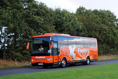 Fowlers Travel (Hesterjenna Photography) Tags: py56lbo 761fow psv bus coach expresscoach excursion transit travel trip holbeach holiday volvo vanhool spalding fowlers