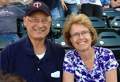 IMG_1572.JPG Pegi & Jerry at Twins Game!