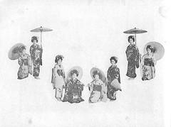Naniwa Odori 1936 004 (cdowney086) Tags: naniwaodori shinmachi   vintage 1930s osaka  geiko geisha