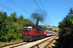 Holy Smoke (Krali Mirko) Tags: bdz train locomotive wagon railway railroad bulgaria      diesel ludmilla 07 07124 lugansk