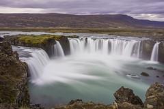 Gafoss (benoitgx) Tags: longexposure waterfall iceland goafoss godafoss nd400 islande