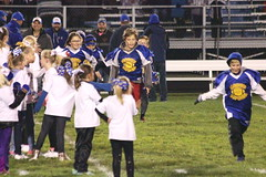 1557 (bubbaonthenet) Tags: 10072016 stma knights vs stfrancis varsity football team cheerleaders communityeducation youthnight youth night st francis tackle sport sports