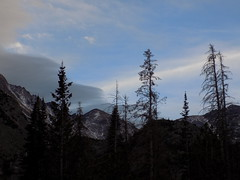 Rocky Mountains (just me julie) Tags: colorado rockymountains mountains sky clouds trees