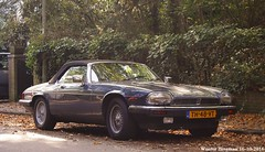 Jaguar XJ-S V12 convertible 1988 (XBXG) Tags: th48vt jaguar xjs v12 convertible 1988 jaguarxjs cabriolet cabrio roadster overveen nederland holland netherlands paysbas vintage old classic british car auto automobile voiture ancienne anglaise uk engeland england
