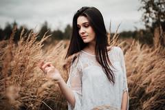 karina. (Angeblich) Tags: portrait woman light availablelight girl longhair autumn 35mm