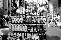 """O"" (bernard suen) Tags: tmax socks seoul myeongdong nikon f3 20mm"