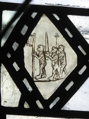 Monkey Procession (Aidan McRae Thomson) Tags: york minster cathedral yorkshire stainedglass window medieval