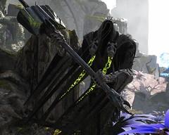 The Eternal One (Paragon Randoms #15) (polyneutron) Tags: unrealengine paragon moba character fighter melee tank sevarog death reaper mystic hammer depthoffield
