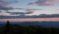 Evening Glow from Brasstown Bald (tr0mbley) Tags: brasstown bald north georgia mountains young harris highest point ga nikon d810 clouds sky sunset forest