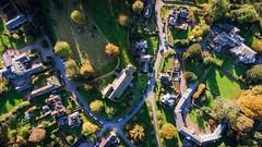 Edensore Church (milo42) Tags: peak district national park httpwwwchrisnewhamphotographycouk 2016 drone sunrise chatsworth chatsworthpark peakdistrictnationalpark peakdistrict edensor england unitedkingdom gb
