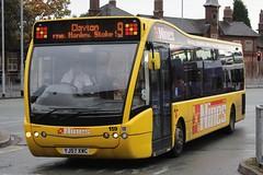 D&G Bus Optare Versa 159 (YJ57 XWC) (john-s-91) Tags: dgbus optareversa 159 yj57xwc newcastleunderlyme nines