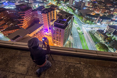 Velocity Tower, Sheffield - Oct. '16 (Craig Skinner - www.craigskinnerphotography.co.uk) Tags: sheffield southyorkshire yorkshire rooftop rooftopping trespass ue urbanexploration urbex nikon cityscape tokina 1116mm photographer moorfoot