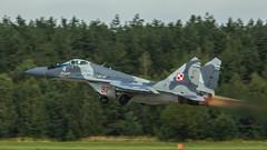 MiG-29A (kamil_olszowy) Tags: mig29a fulcrum fighter polish air force 92 912a 12bbsp epmi mirosawiec