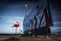 (Abel AP) Tags: sign billboard rural mosslanding california usa northerncalifornia highway1