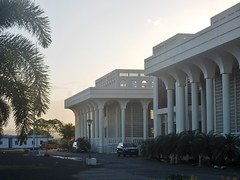 Pillars of State (mikecogh) Tags: apia samoa government ministry architecture imposing formal pillars stately