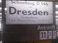 Schnellzug (christophrohde) Tags: interzonenzug dzug schilder