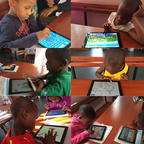 "The Tuleeni children LOVE learning on our new iPads from @arrowelectronics !!! @alihanson2 and @mandylstein spent the past at few days working hard to get the iPads all set up and the kids were so so so excited to get to use them for the first time today. • <a style=""font-size:0.8em;"" href=""http://www.flickr.com/photos/59879797@N06/30759083462/"" target=""_blank"">View on Flickr</a>"