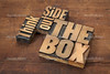 think outside the box (cheever.zachary) Tags: box brainstorming concept creative creativity different grunge inspiration lateralthought letterpress mindset outside perspective reminder smart solving think type typeface unconventional vintage wood