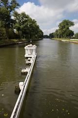 Leading lines (paul indigo) Tags: belgium nieuwegebrug paulindigo canal navigation structure travel trees waterways