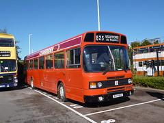 Preserved Midland Red North 811 (BVP811V) 02102016 (Rossendalian2013) Tags: preserved bus leylandnational midlandred midlandrednorthlimited northwesternroadcar stottscoacheshuddersfield chaserider bvp811v birkenhead n10