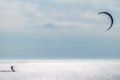 Light experiment. Esperimenti di luce. (omar.flumignan) Tags: kite kitesurf kitesurfer mare sea tavola vela onda wave vento wing cielo sky fossalon fvg friuliveneziagiulia canon eos 7d ef100400f4556lisusm luce light