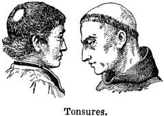Anglų lietuvių žodynas. Žodis tonsures reiškia tamsos lietuviškai.