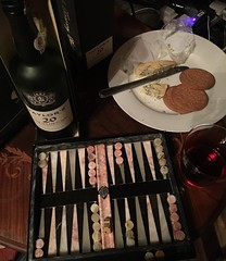 Stilton port and backgammon (allanpar) Tags: stiltonport backgammon port stilton
