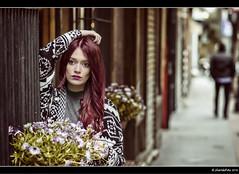 Irene - 5/5 (Pogdorica) Tags: modelo sesion retrato posado irene madrid centro huertas pelo rojizo