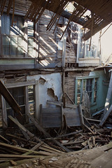 structural concerns (History Rambler) Tags: old abandoned antebellum plantation house home rural south forgotten neglect ruin