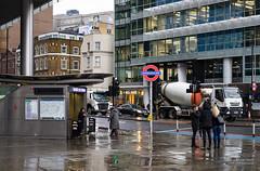 Aldgate East (cybertect) Tags: aldgateeast canonfd55mmf12aspherical e1 lemanstreet london londone1 londonunderground sonya7 whitechapel whitechapelhighstreet entrance
