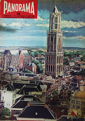1966 Panorama (Steenvoorde Leen - 2.7 ml views) Tags: 1966 panorama weekblad 53ejaargang utrecht domtoren