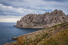Marseille-0003 (philippemurtas) Tags: marseille france bouche du rhone provencealpescte dazur nuage mer mediterrane roche bord de bleu couleur ciel horizon nikon cloud mediterranean sea rock blue sky