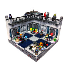 Warehouse 004 ({eeza}) Tags: scifi space collector lego crate