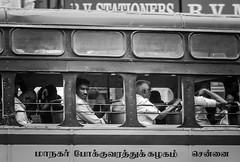 India Memories (Angelo Petrozza) Tags: india tamilnadu sudindia blackandwhite biancoenero bw pentax angelopetrozza travel viaggiare pulman bus persone people viaggiatori