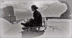 ╰☆╮Une belle rencontre c'est aussi parfois une question de temps, il faut se trouver l'un l'autre, au bon moment╰☆╮ (MISS V♛ ANDORRA 2016 - MISSVLA♛ ARGENTINA 2017) Tags: qposes blackwhite noiretblanc art artistic artist man male fruzillen poses posemaker designer mesh landscape furillen