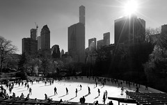 Skating in Central Park (Joe Josephs: 2,861,655 views - thank you) Tags: centralpark joejosephs nyc newyorkcity copyrightjoejosephs landscapephotography outdoorphotography ny usa blackandwhitephotography blackandwhite ice skating recreation out