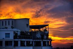 Gorgeous sunset tonight (ClickSnapShot) Tags: ilobsterit sunset goldenhour evening malaysia kualalumpur cloud condo beautiful