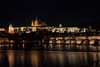Nocturna de Praga (gasendi) Tags: rio praga republicacheca prague castillo puente nocturna gasendi canon eos450d iglesia praha ceskarepublica reflejos medieval moldava vltava