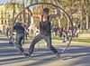 Equilibrista (Porschista) Tags: barcelona arcdeltriomf catalunya acróbata equlibrista stuntman